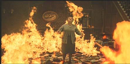 Womanburning