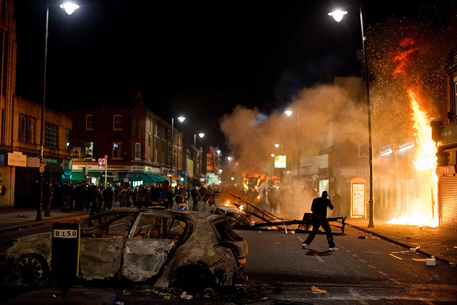 Tottenham Riots Beacon Radio