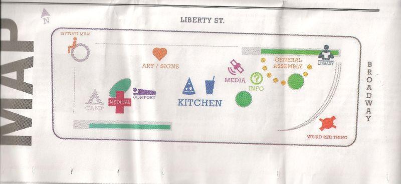 Map of Zuccotti