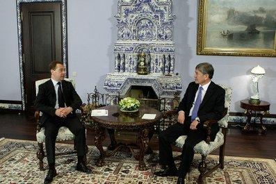 Atambayev Medvedev