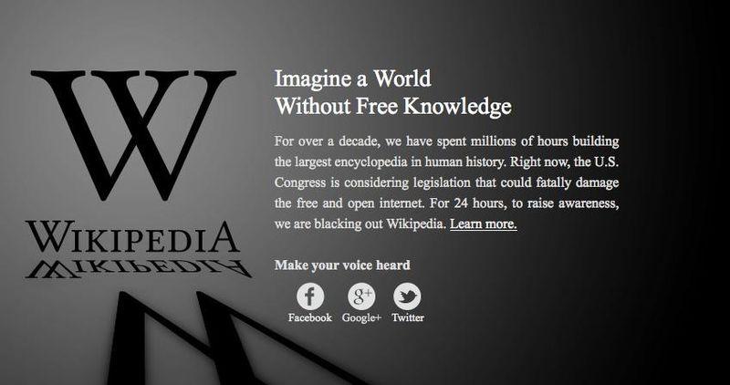 Wikipedia-protest
