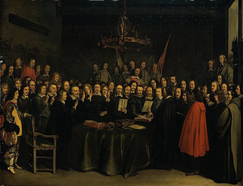 785px-The_Ratification_of_the_Treaty_of_Munster,_Gerard_Ter_Borch_(1648)