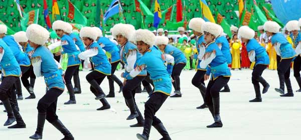 Turkmens on Flag Day