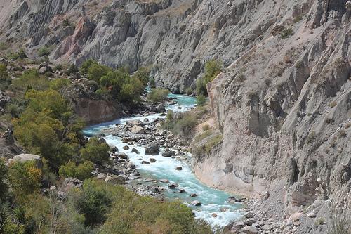 Tajikistan Gorge