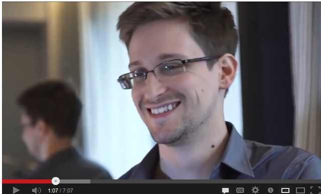 Smiling Snowden