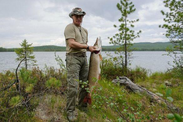 Putin and Fish