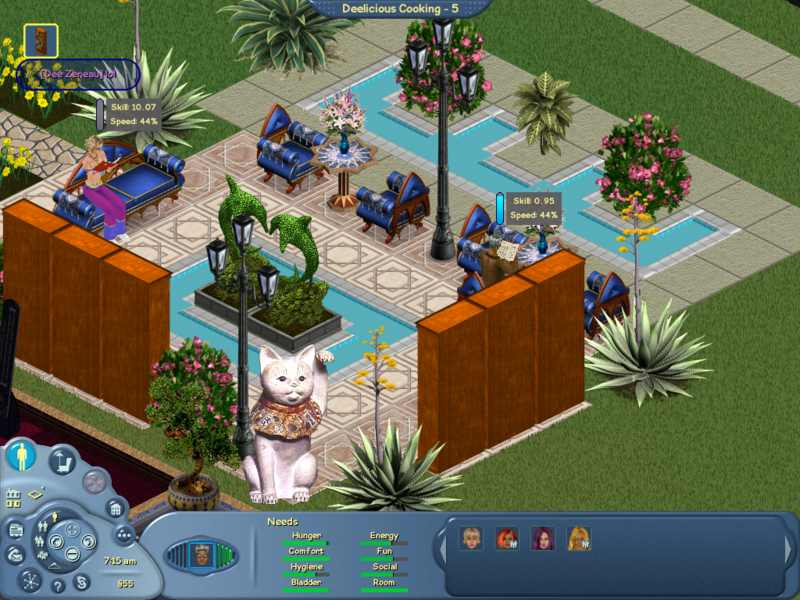 Sims Online Skilling