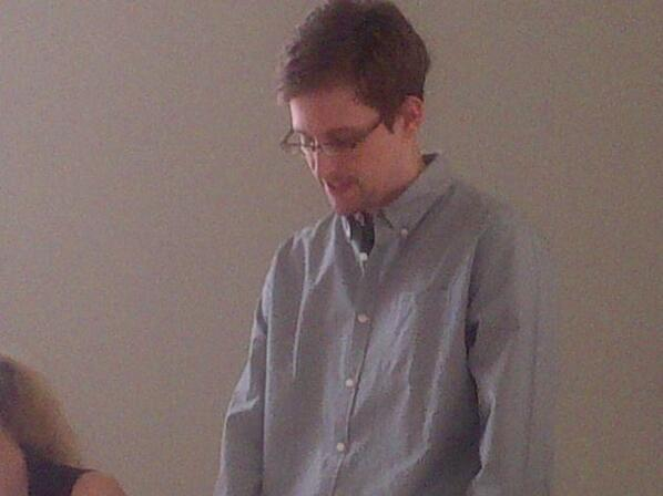 Snowden at SVO