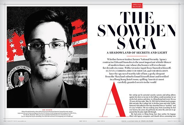 Vanity Fair on Snowden: A Change in the Narrative About Snowden\'s ...