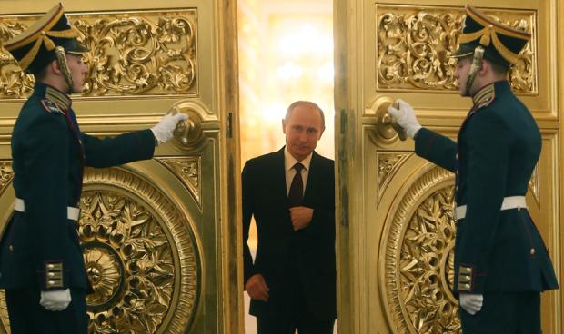 Gold Doors Putin