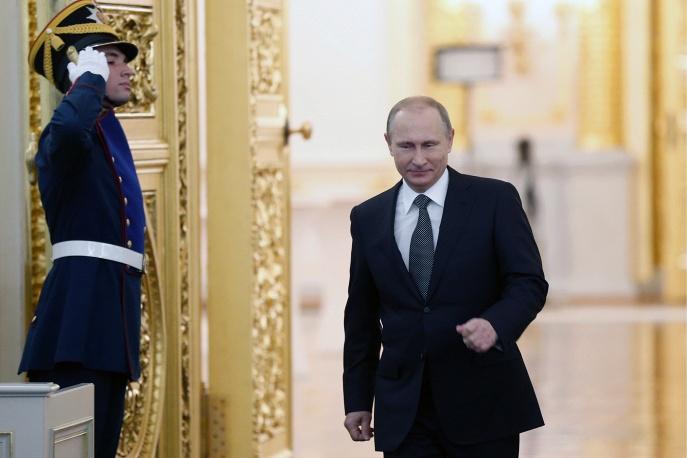 Mikhail Dzhaparidze TASS Putin
