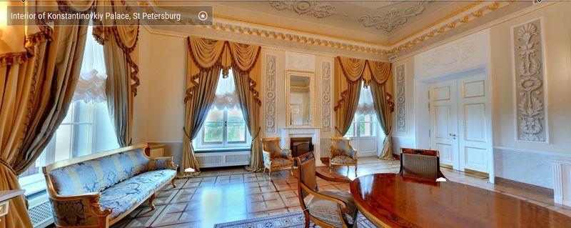 Interior Konstantinov Palace